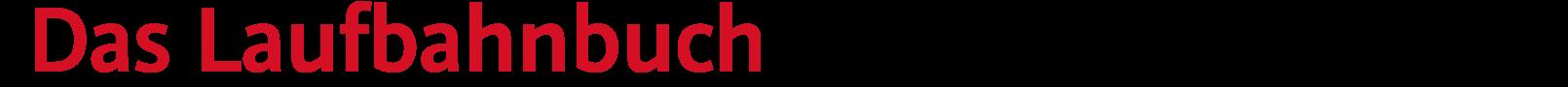 Logo «Das Laufbahnbuch – Laufbahngestaltung, Stellensuche, Bewerbung»